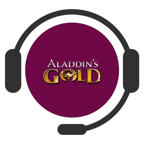 Aladdins Gold Casino - Support