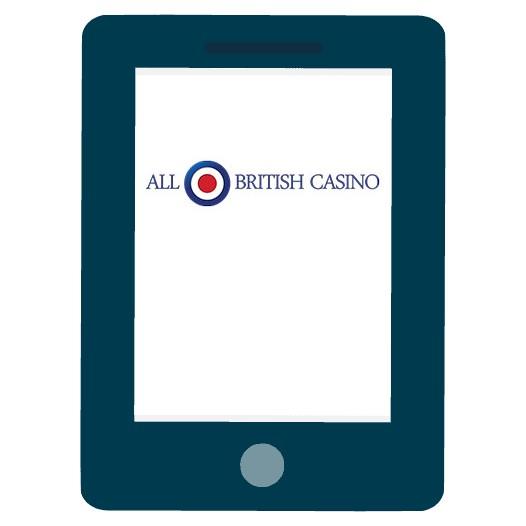 All British Casino - Mobile friendly