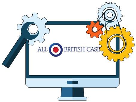 All British Casino - Software