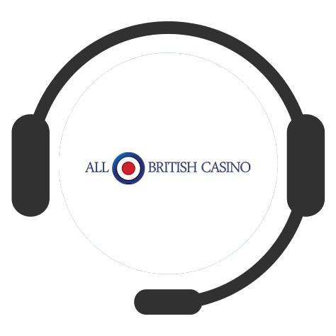 All British Casino - Support