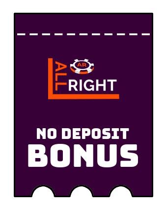 All Right Casino - no deposit bonus CR