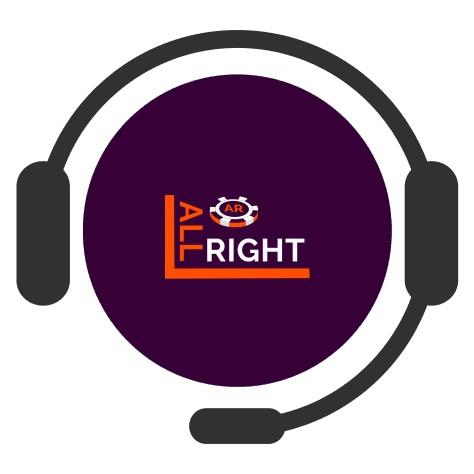 All Right Casino - Support