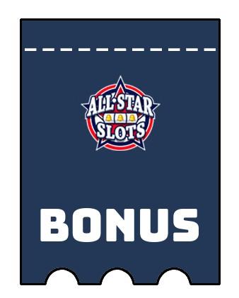 Latest bonus spins from All Star Slots Casino