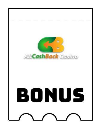 Latest bonus spins from Allcashback Casino