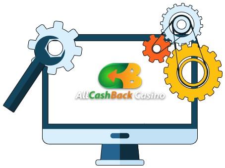 Allcashback Casino - Software