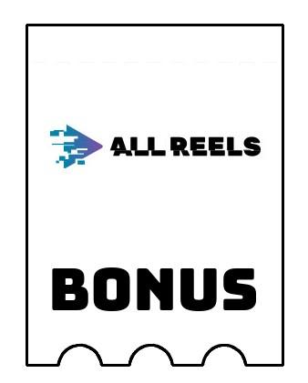Latest bonus spins from AllReels