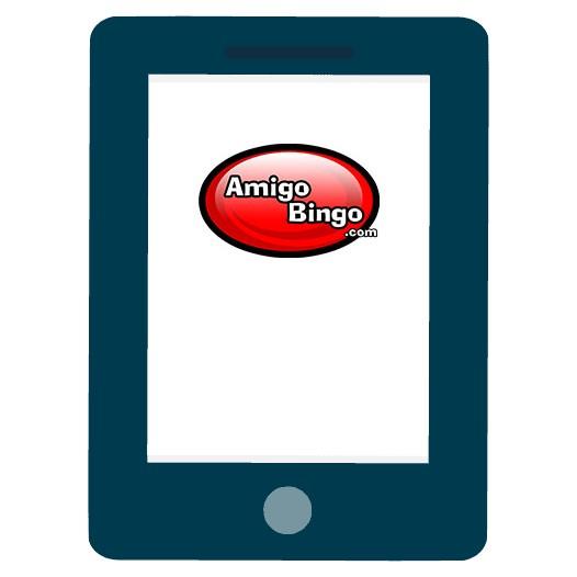Amigo Bingo - Mobile friendly