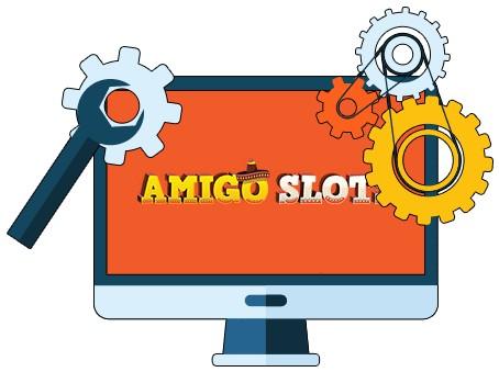 Amigo Slots Casino - Software