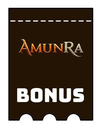 Latest bonus spins from AmunRa
