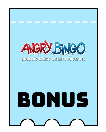 Latest bonus spins from Angry Bingo
