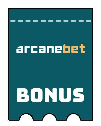 Latest bonus spins from Arcanebet