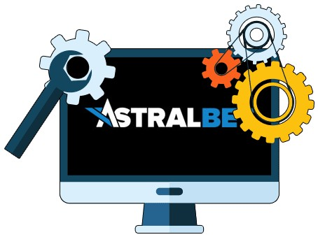 AstralBet Casino - Software