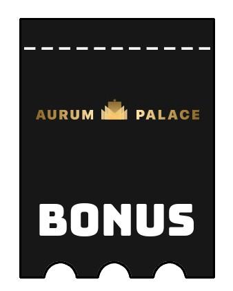 Latest bonus spins from AurumPalace