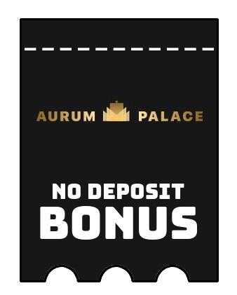 AurumPalace - no deposit bonus CR