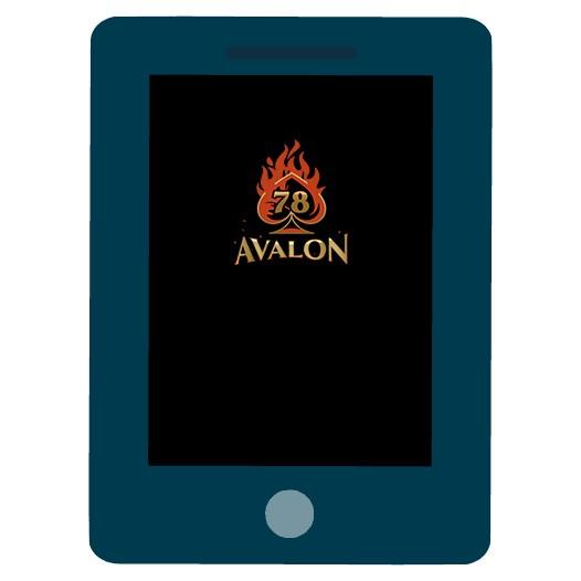 Avalon78 - Mobile friendly