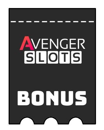 Latest bonus spins from Avenger Slots
