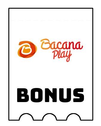 Latest bonus spins from Bacana Play