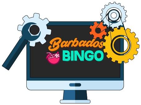 Barbados Bingo Casino - Software