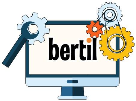 Bertil Casino - Software