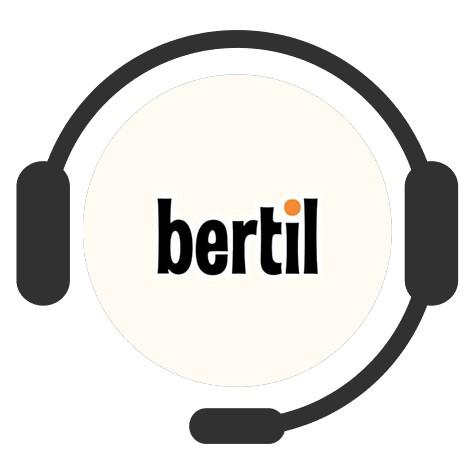 Bertil Casino - Support