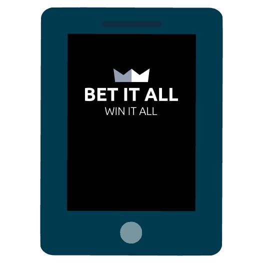 Bet it All Casino - Mobile friendly