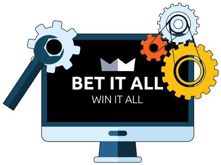 Bet it All Casino - Software