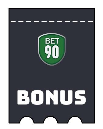 Latest bonus spins from Bet90 Casino