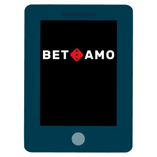 BetAmo - Mobile friendly