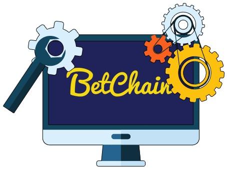 BetChain Casino - Software