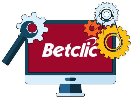 BetClic Casino - Software