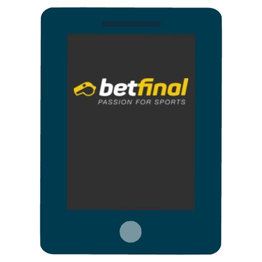 Betfinal Casino - Mobile friendly