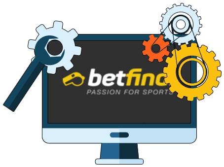 Betfinal Casino - Software