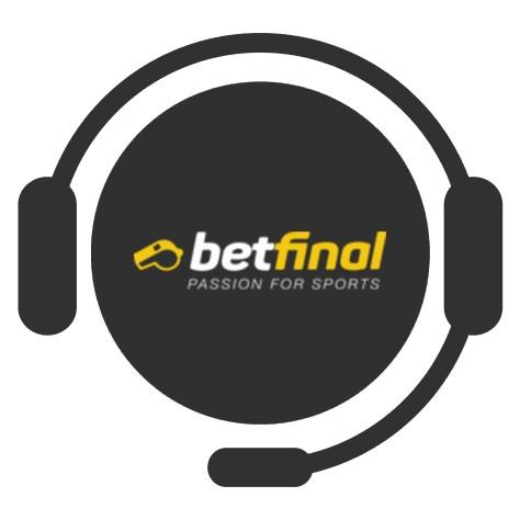 Betfinal Casino - Support
