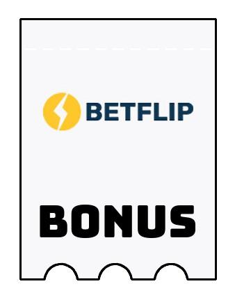Latest bonus spins from Betflip