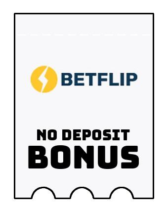 Betflip - no deposit bonus CR