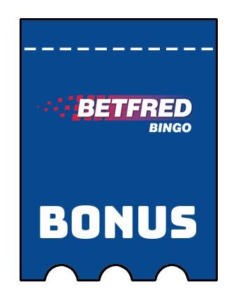Latest bonus spins from Betfred Bingo