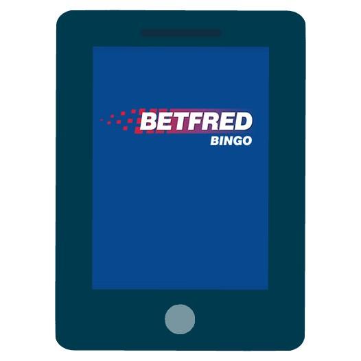Betfred Bingo - Mobile friendly