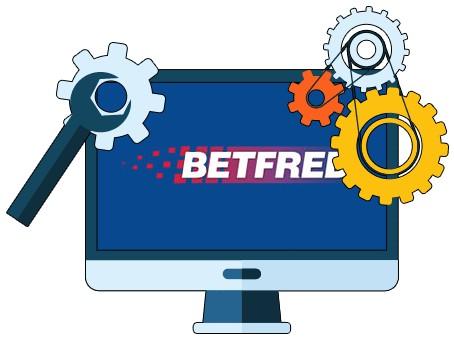 Betfred Casino - Software