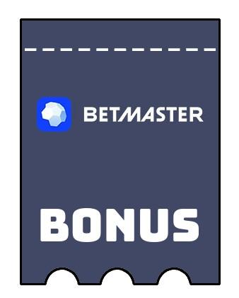 Latest bonus spins from Betmaster