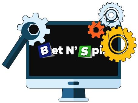 BetNSpin Casino - Software