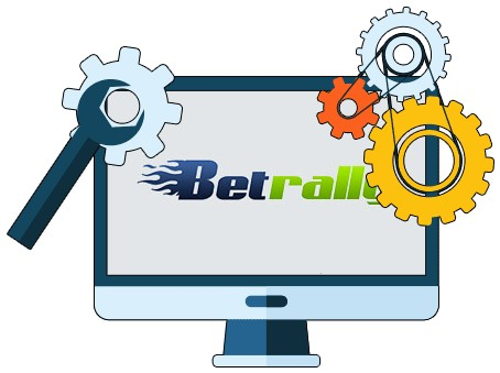 BetRally Casino - Software