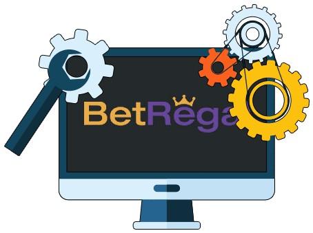 BetRegal Casino - Software