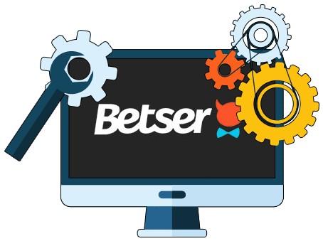 Betser Casino - Software