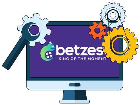 Betzest Casino - Software