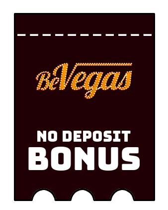 BeVegas Casino - no deposit bonus CR
