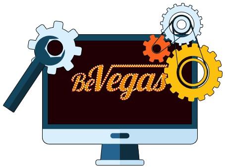 BeVegas Casino - Software