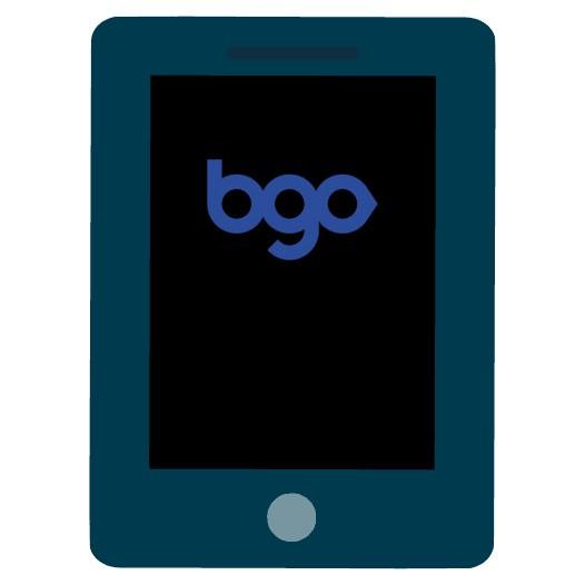 BGO Bingo - Mobile friendly