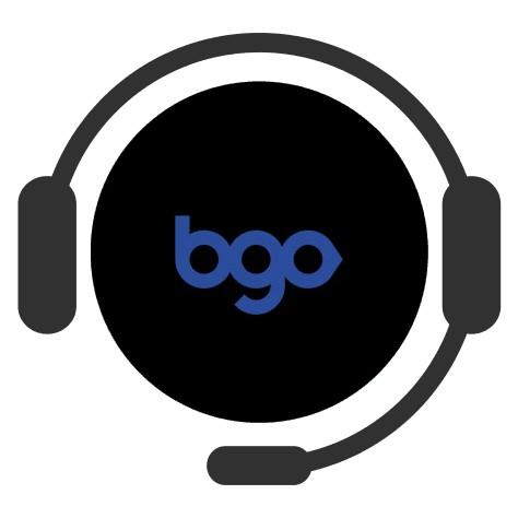 BGO Bingo - Support