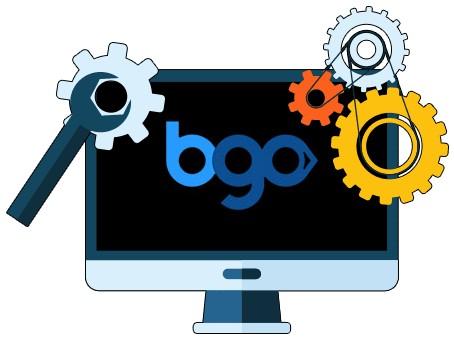 Bgo Casino - Software