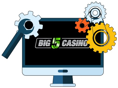 Big 5 Casino - Software